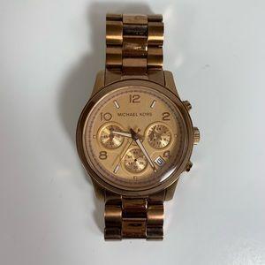 Michael Kors Rose Gold MK5128 Wrist Watch Women